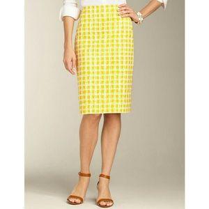 Talbots | Pencil Picnic Skirt